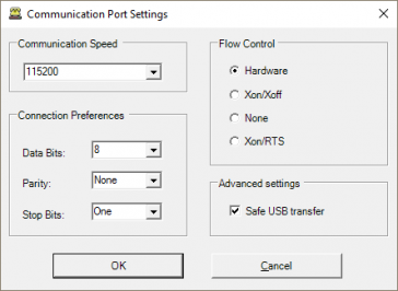 Technical advice on connecting to a PC over USB